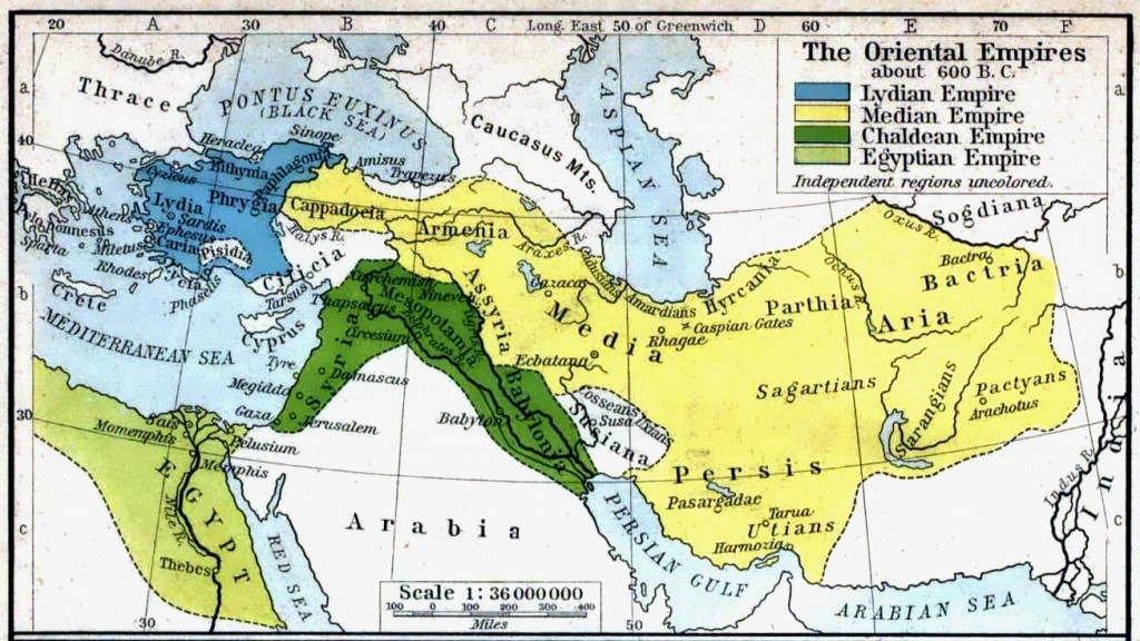 The Oriental Empires before the rise of the Persians