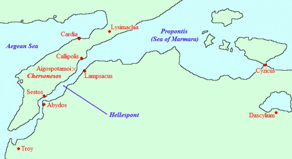 The Bosphorous and the Hellespont